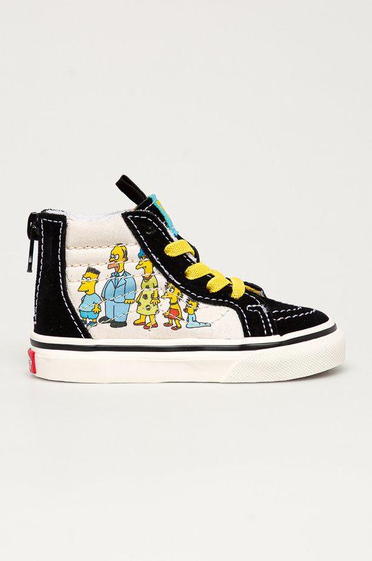 čierna Vans - Detské tenisky x The Simpsons Detský