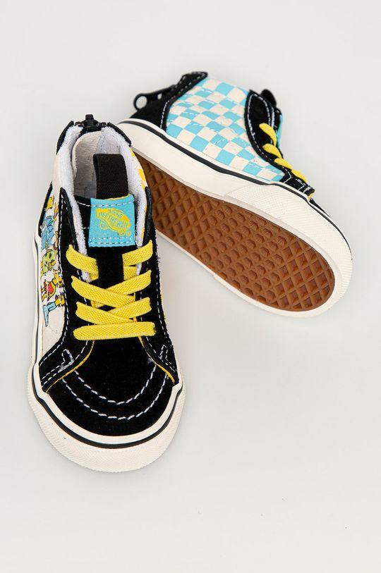 čierna Vans - Detské tenisky x The Simpsons