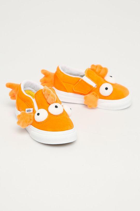 Vans - Tenisi copii x The Simpsons portocaliu