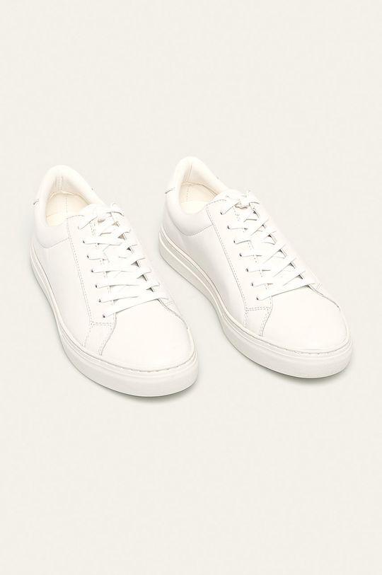 Vagabond - Kožené boty Paul bílá