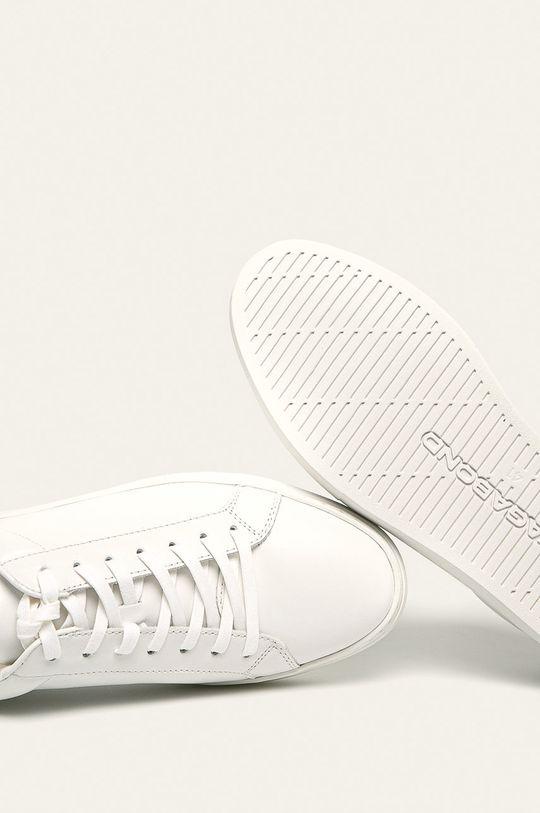 bílá Vagabond - Kožené boty Paul