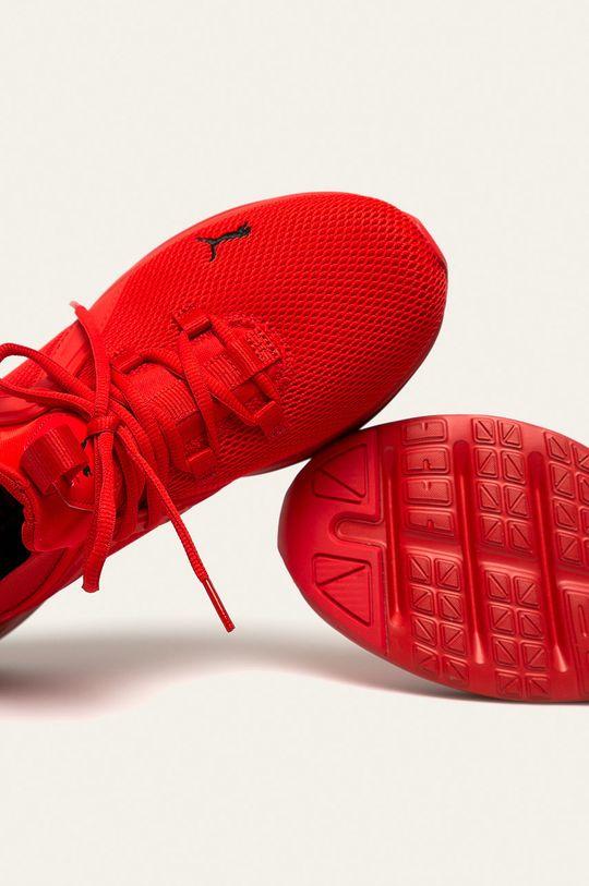 červená Puma - Topánky Enzo 2