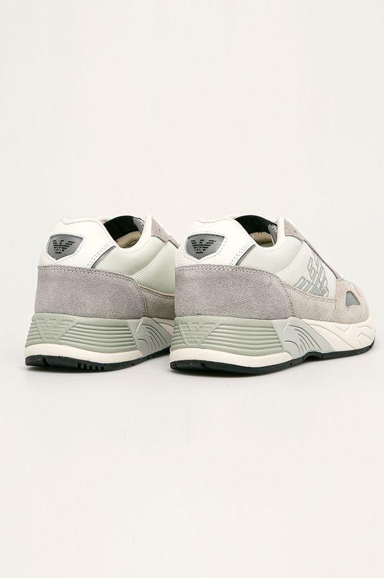 Emporio Armani - Pantofi Gamba: Material sintetic, Material textil, Piele intoarsa Interiorul: Material sintetic, Material textil Talpa: Material sintetic