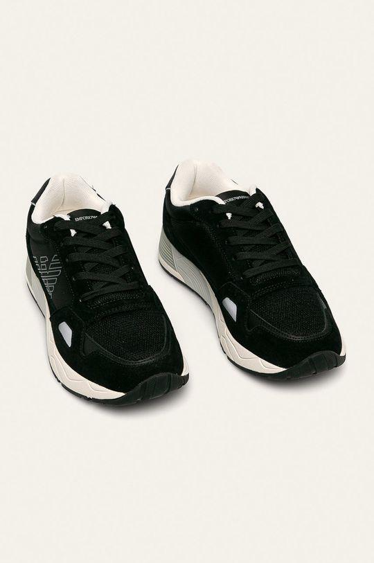 Emporio Armani - Topánky čierna