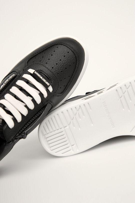 čierna Emporio Armani - Topánky