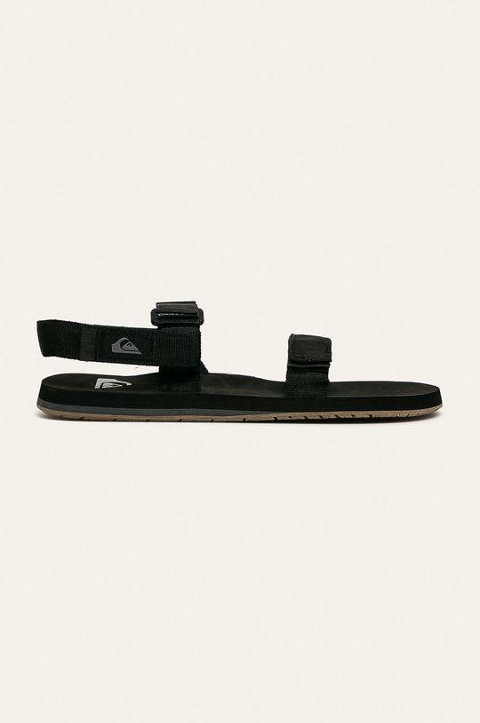 čierna Quiksilver - Sandále Pánsky
