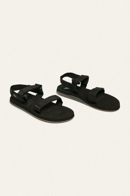 Quiksilver - Sandále čierna