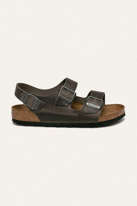 verde Birkenstock - Sandale de piele Milano De bărbați