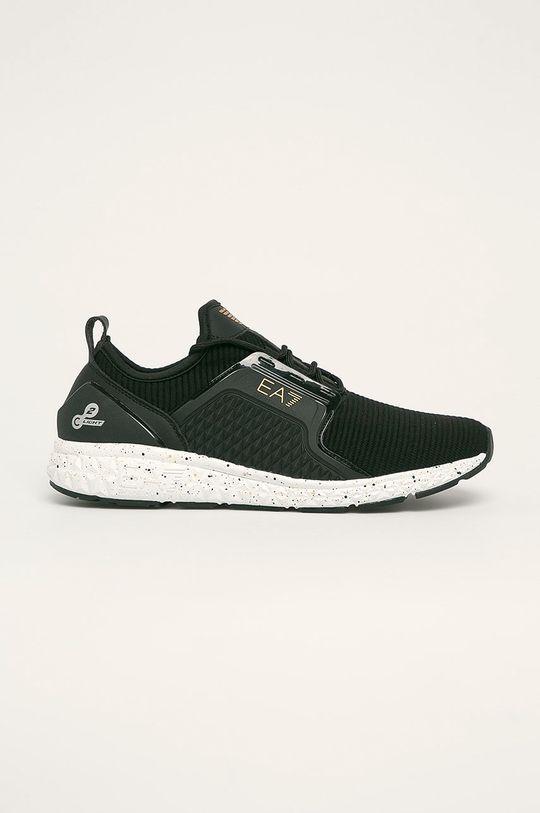 negru EA7 Emporio Armani - Pantofi De bărbați