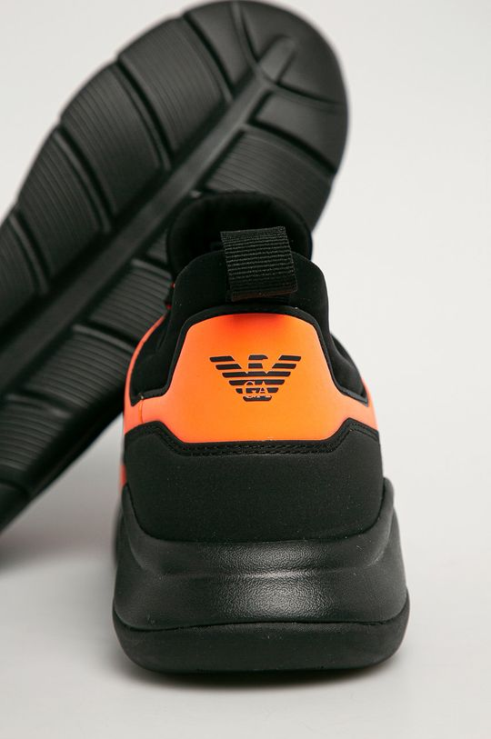 čierna EA7 Emporio Armani - Topánky