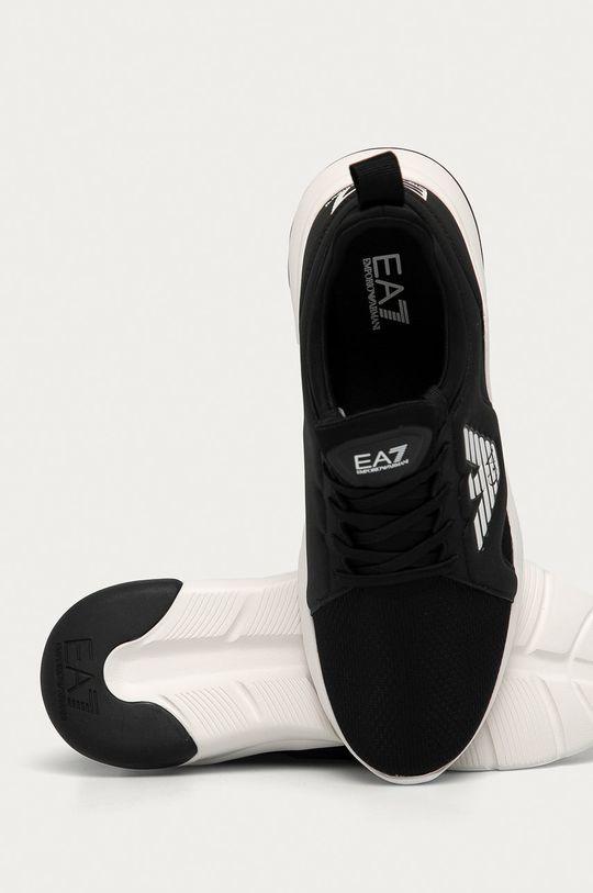 černá EA7 Emporio Armani - Boty