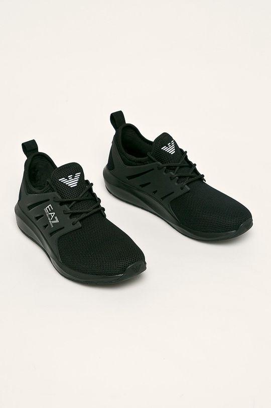 EA7 Emporio Armani - Topánky čierna