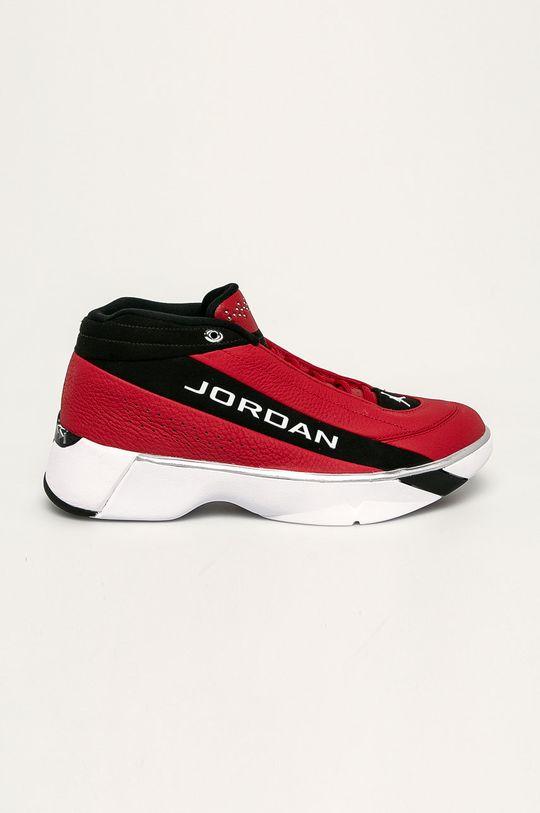 červená Jordan - Boty TEAM SHOWCASE Pánský