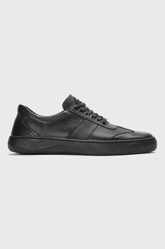 čierna Nike - Kožená obuv Cortez Basic Leather Pánsky