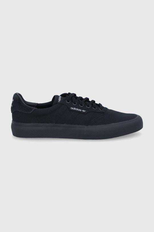 černá adidas Originals - Tenisky 3Mc Pánský