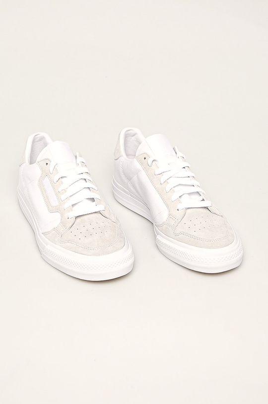 adidas Originals - Tenisky Continental Vulc biela