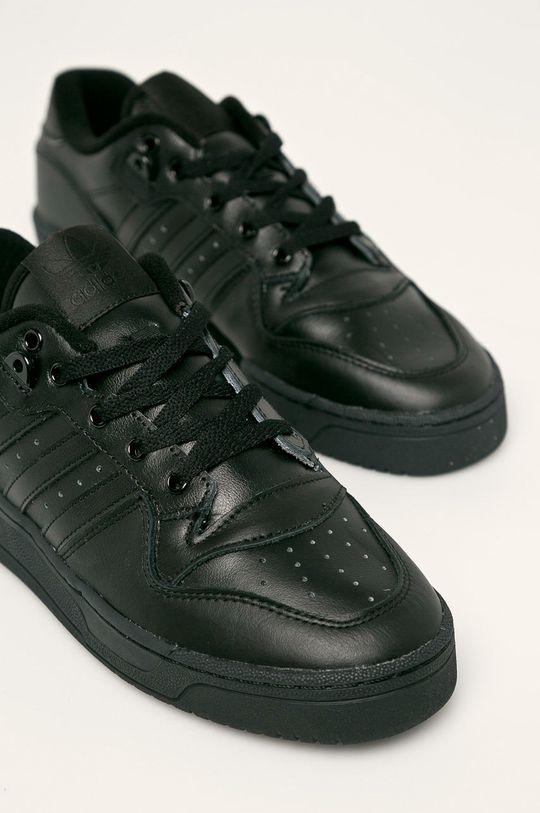 czarny adidas Originals - Buty Rivalry Low