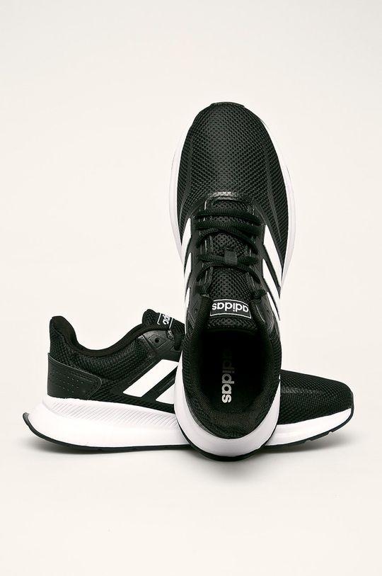 čierna adidas - Topánky Runfalcon