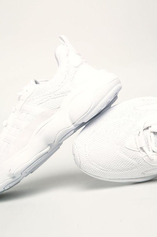 biela adidas Originals - Topánky Haiwee