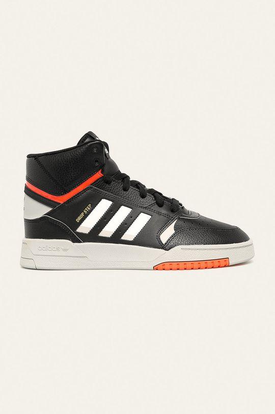 čierna adidas Originals - Topánky Drop Step Pánsky