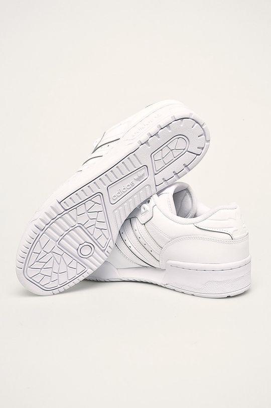 biały adidas Originals - Buty Rivalry Low