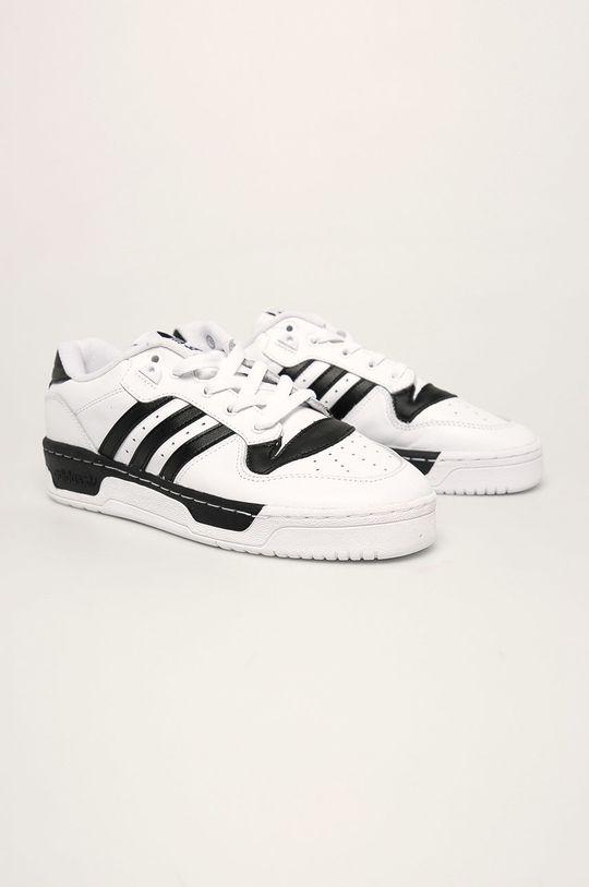 adidas Originals - Buty Rivalry Low biały