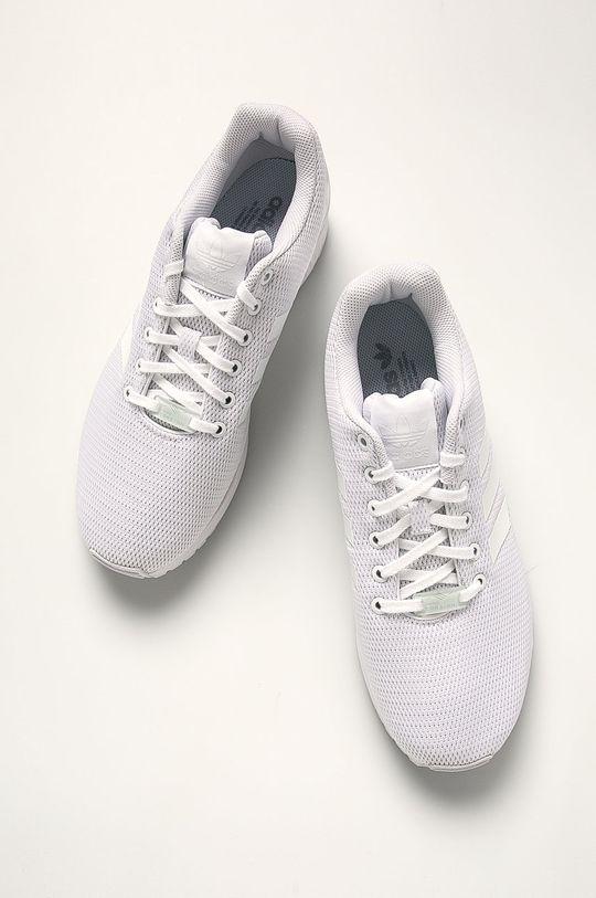 biela adidas Originals - Topánky Zx Flux
