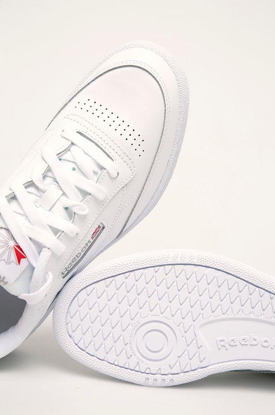 bílá Reebok Classic - Kožené boty Club C 85