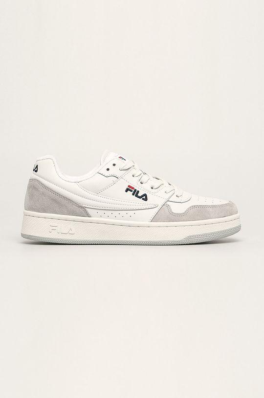 svetlosivá Fila - Kožená obuv Arcade low Pánsky