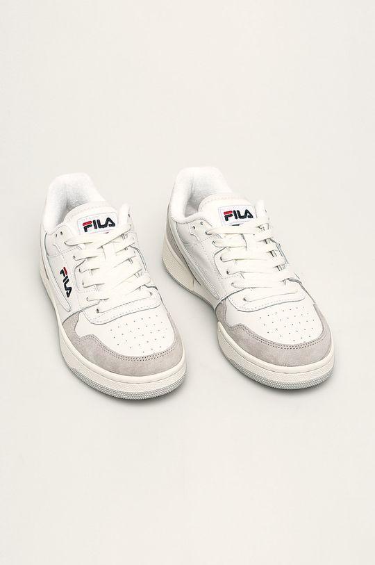 Fila - Kožená obuv Arcade low svetlosivá