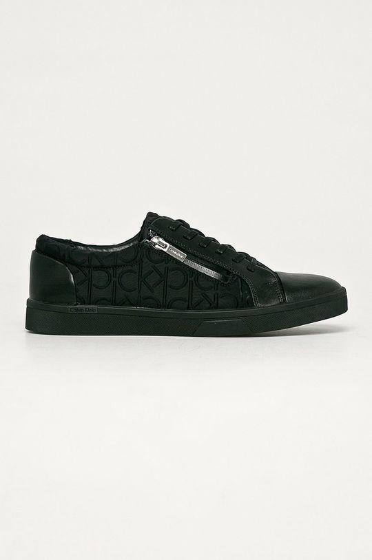 čierna Calvin Klein - Topánky Pánsky