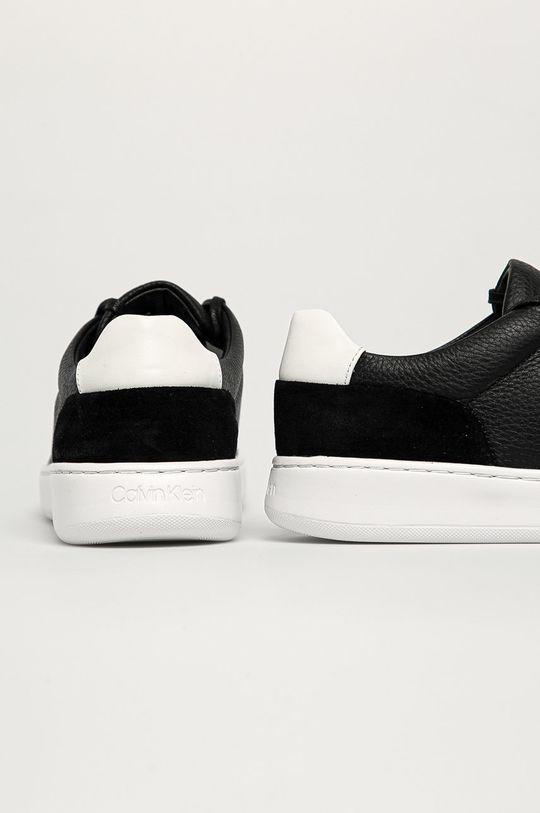 Calvin Klein - Kožená obuv  Zvršok: Prírodná koža Vnútro: Syntetická látka Podrážka: Syntetická látka