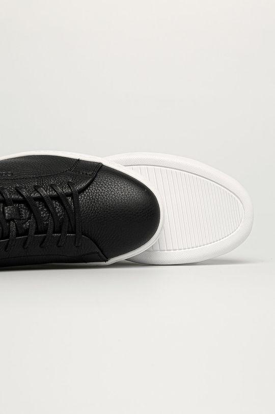 čierna Calvin Klein - Kožená obuv