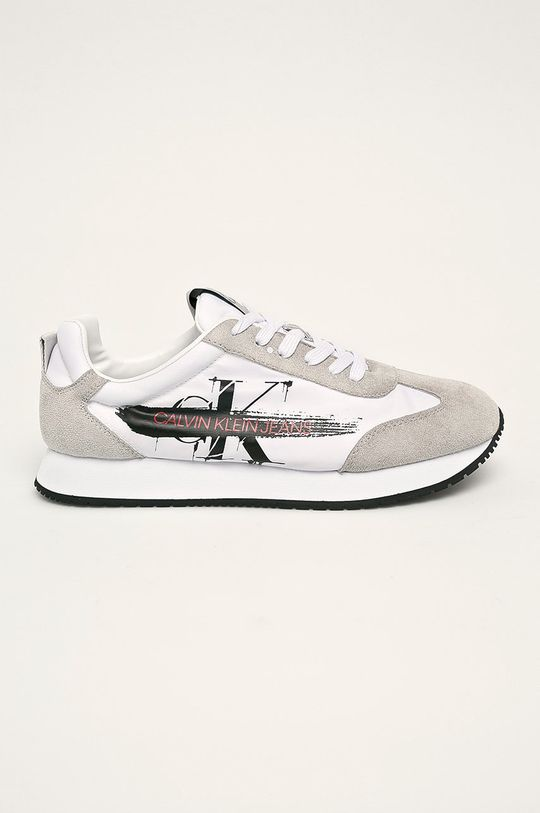 biela Calvin Klein Jeans - Topánky Pánsky