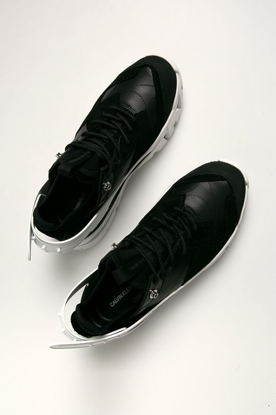 Calvin Klein Jeans - Pantofi Gamba: Material sintetic, Material textil, Piele naturala Interiorul: Material textil Talpa: Material sintetic