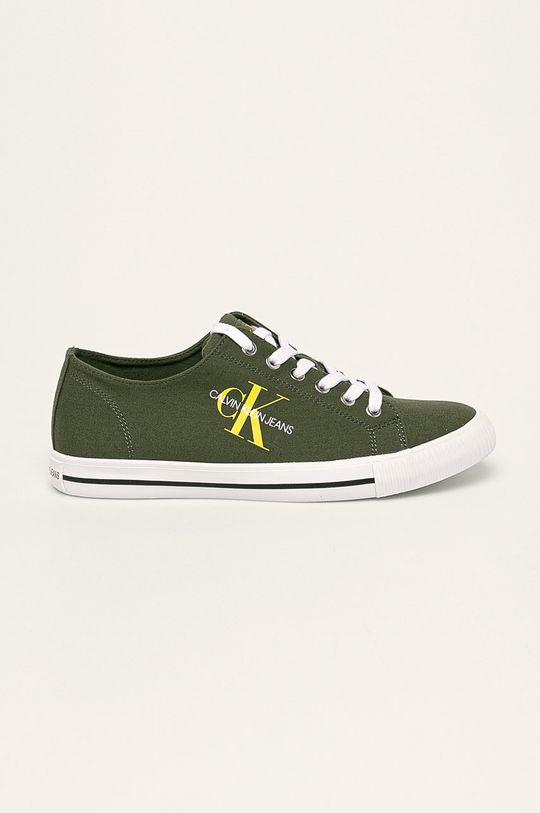 verde murdar Calvin Klein Jeans - Tenisi De bărbați