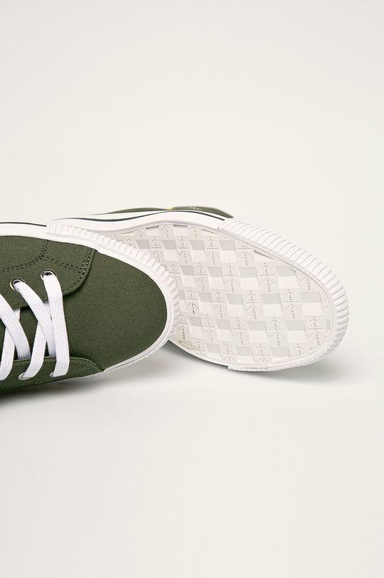 verde murdar Calvin Klein Jeans - Tenisi