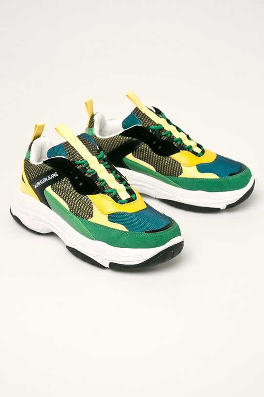 Calvin Klein Jeans - Pantofi verde