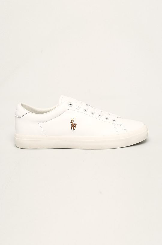 biały Polo Ralph Lauren - Buty skórzane Męski