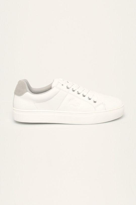 biela s. Oliver - Kožená obuv Pánsky