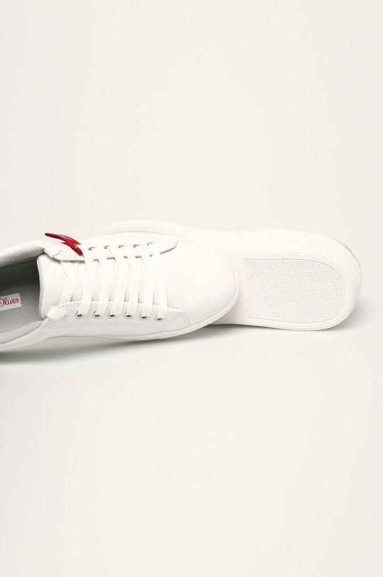 biela s. Oliver - Kožená obuv