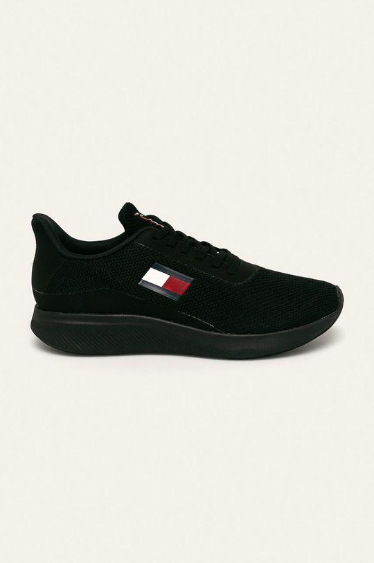 čierna Tommy Sport - Topánky Pánsky