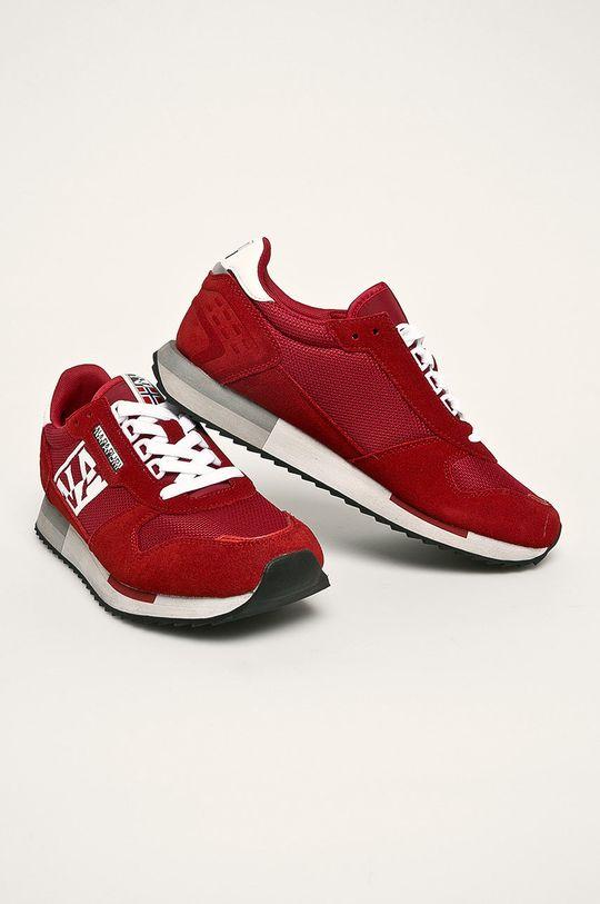 Napapijri - Boty červená