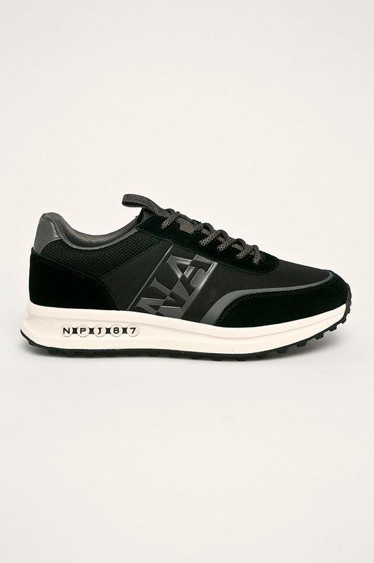 čierna Napapijri - Topánky Pánsky