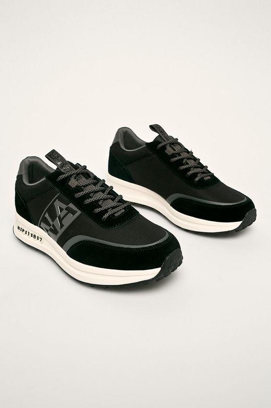 Napapijri - Topánky čierna