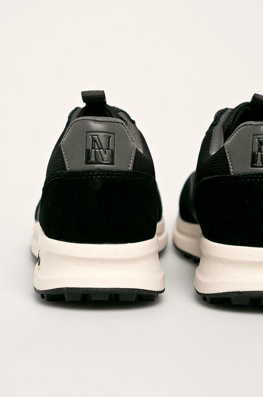 čierna Napapijri - Topánky