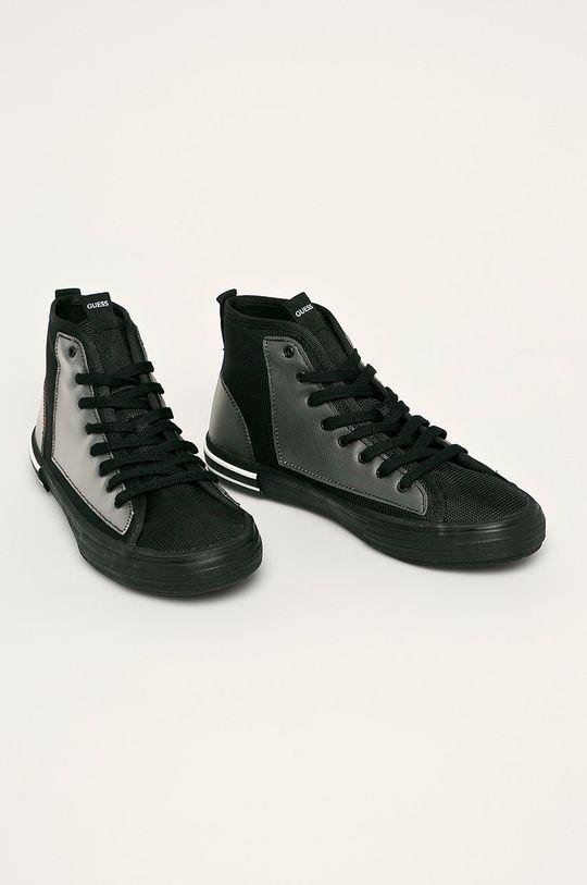 Guess Jeans - Trampki czarny