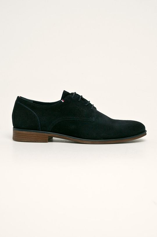 bleumarin Tommy Hilfiger - Pantofi de piele De bărbați