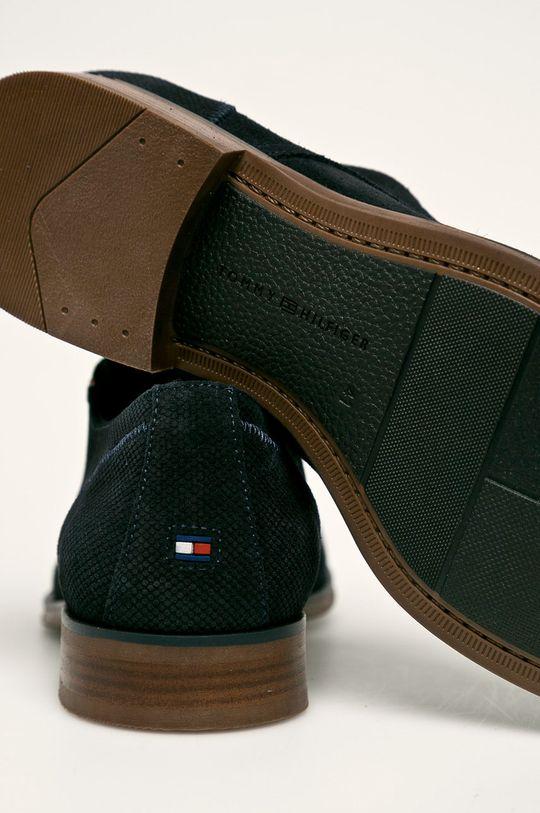 Tommy Hilfiger - Pantofi de piele Gamba: Piele intoarsa Interiorul: Material textil, Piele naturala Talpa: Material sintetic