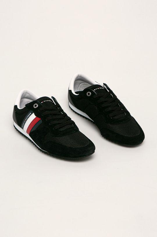 Tommy Hilfiger - Topánky čierna